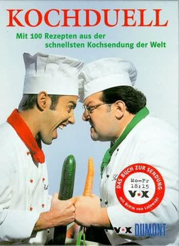 Koch- Duell ( Kochduell). Mit 100 Rezepten aus der schnellsten Kochsendung der Welt
