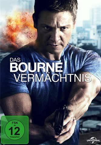 DAS BOURNE VERMÄCHTNIS - RENNE [DVD] [2012]
