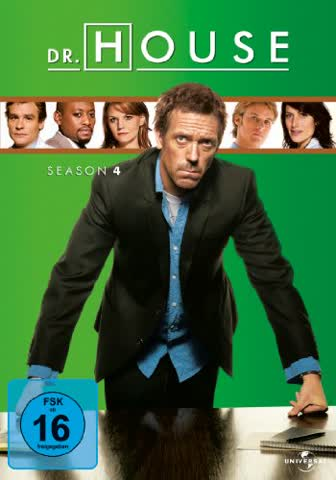 Dr. House - Season 4 [4 DVDs]