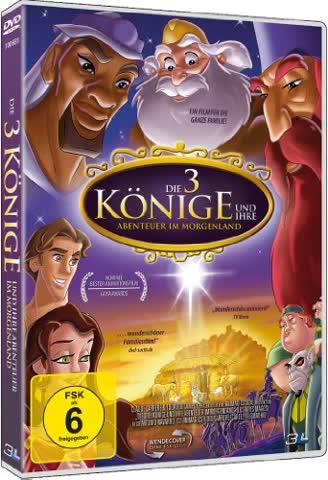 Die 3 Könige und ihre Abenteuer im Morgenland