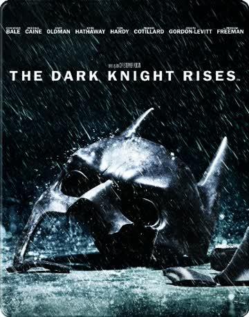 The Dark Knight Rises steelbook import Allemagne