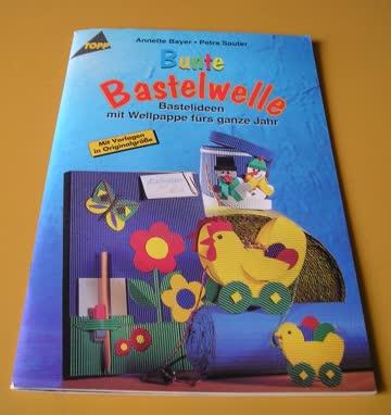 Bunte Bastelwelle