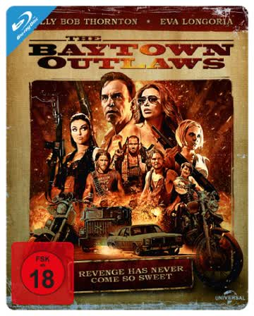 The Baytown Outlaws - Steelbook [Blu-ray] [Limited Edition]
