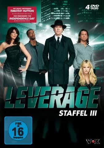 Leverage - Staffel 3 [4 DVDs]