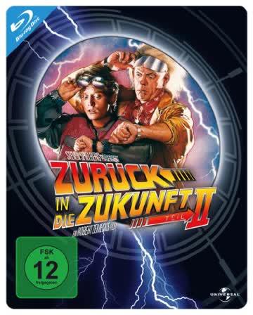 Back to the Future II (Steelbook) [Blu Ray]