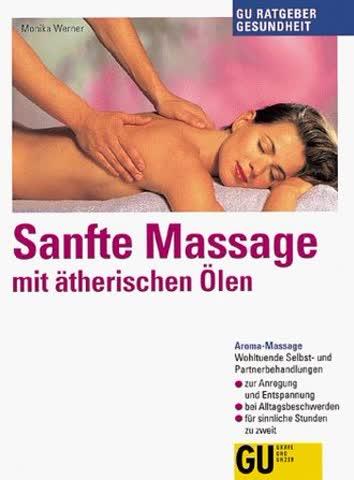 Sanfte Massage mit ätherischen Ölen