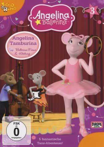Angelina Ballerina / Folge 03: Angelina Tamburina