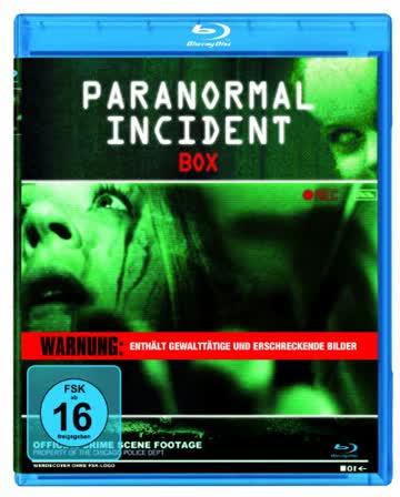 Paranormal Incident Box [Blu-ray]