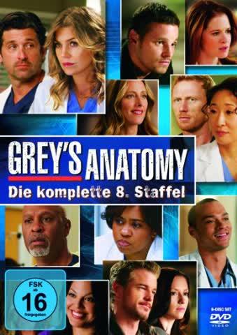 Grey's Anatomy - Season 8 (DVD)