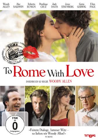 Bestseller - To Rome With Love (DVD)