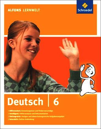 Alfons Lernwelt Lernsoftware Deutsch - Ausgabe 2009: Deutsch 6