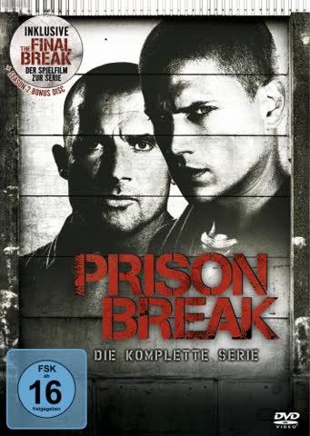 Prison Break - Die komplette Serie (inkl. The Final Break) [24 DVDs]