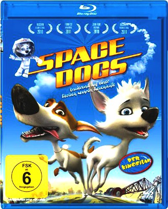 Space Dogs - Der Kinofilm (Blu-ray)