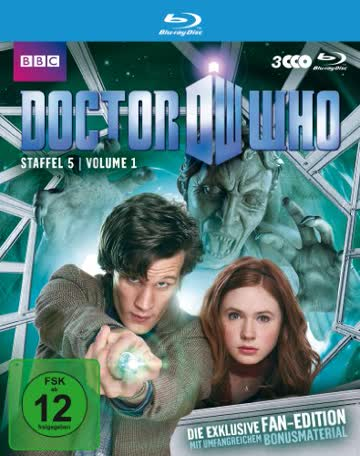 Doctor Who - Staffel 5.1 - Fan Edition [Blu-ray]