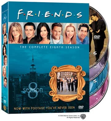 Friends: Complete Eighth Season (4pc) / (Std Dol) [DVD] [Region 1] [NTSC] [US Import]