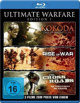 Ultimate Warfare - Edition 1 (Kokoda - Das 39. Bataillon / Rise Of War / The Cross Roads - Die Verfluchten des Krieges) [Blu-ray] [Collector's Edition]