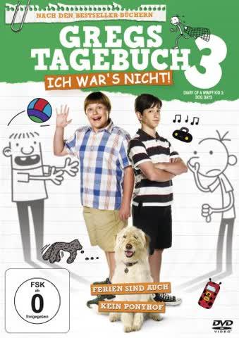 Gregs Tagebuch 3 - Ich war`s nicht (DVD)