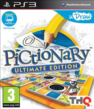 Pictionary Ultimate Edition (Udraw Only)