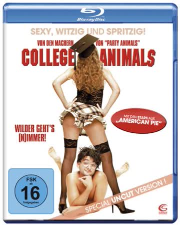 College Animals (Special Uncut Version) [Blu-ray]