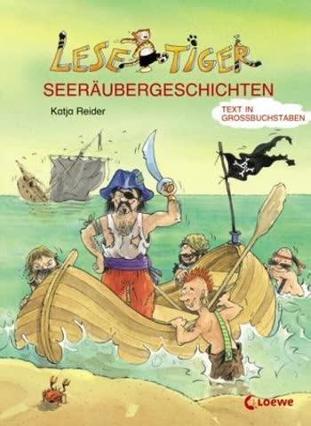 Lesetiger-Seeräubergeschichten: Großbuchstabenausgabe
