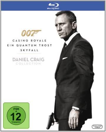 James Bond 007 - Daniel Craig Collection [Blu-ray]