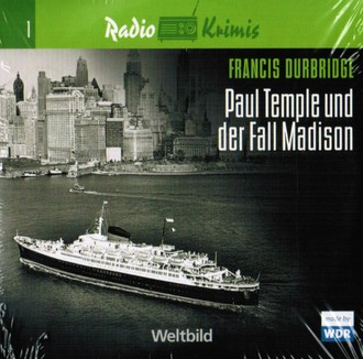 Radio Krimis - Paul Temple und der Fall Madison - 4 CDs