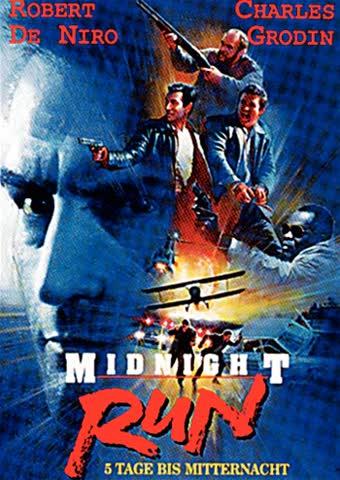 MIDNIGHT RUN - ROBERT DE NIRO, [DVD] [1988]