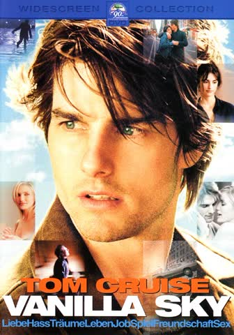 Vanilla Sky [Verleihversion] [DVD] (2002) Cruise, Tom, Cruz,Penelope