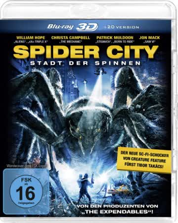 Spider City (3D Vers.) (Blu-ray)