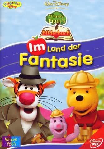 Winnie Puuh's Bilderbuch - Im Land der Fantasie