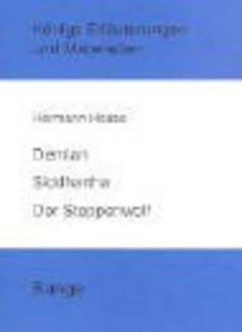 Hermann Hesse: Demian / Siddhartha / Der Steppenwolf