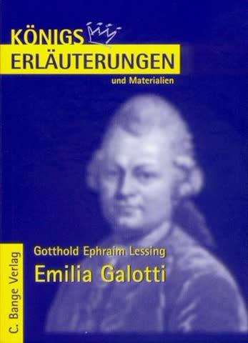 Gotthold Ephraim Lessing: Emilia Galotti