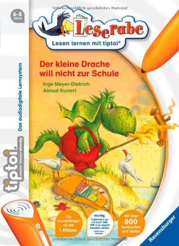 Leserabe - Der kleine Drache will nicht zur Schule