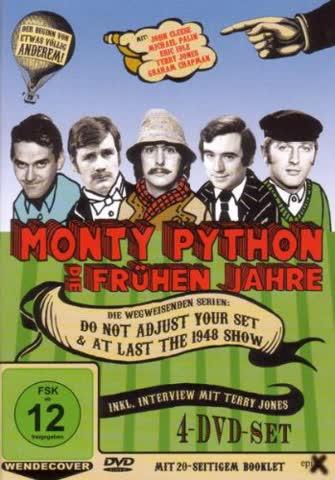 Monty Python - Die frühen Jahre (OmU, Exklusiv bei 2001) [4 DVDs]