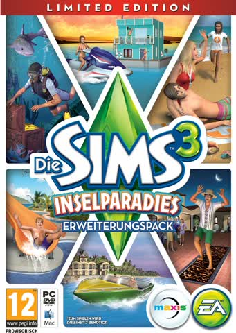 Die Sims 3: Inselparadies Limited Edition [Add-On]