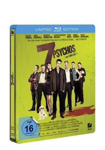 7 Psychos: Limitierte Steelbook Edition