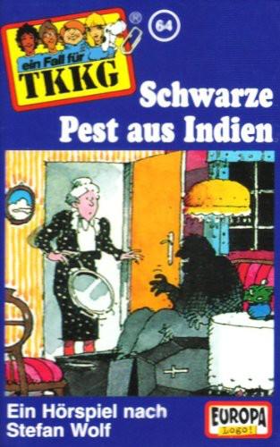 TKKG 064/ Schwarze Pest aus Indien [CASSETTE]