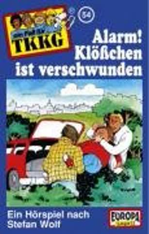 TKKG 054-Alarm! Klösschen ist verschwunden [Musikkassette]