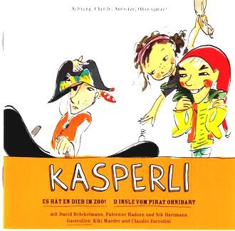 Kasperli - Im Zoo! / Pirat Ohnibart