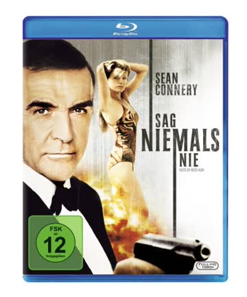 James Bond - Sag niemals nie [Blu-ray]