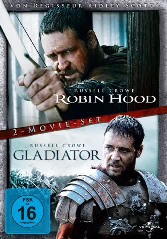 Robin Hood + Gladiator Duopack [Director's Cut] [2 DVDs]