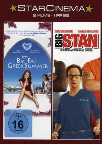 My Big Fat Greek Summer / Big Stan - Kleiner Arsch ganz groß! [2 DVDs]