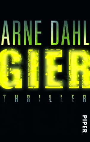 Gier: Thriller (Opcop-Gruppe, Band 1)