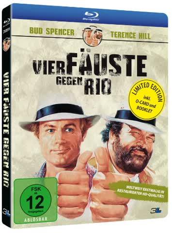Vier Fäuste gegen Rio [Blu-ray]
