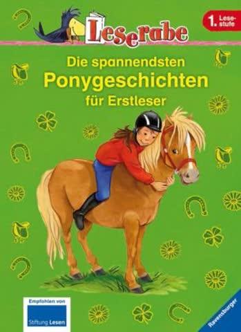 Die spannendsten Ponygeschichten für Erstleser (Leserabe - Sonderausgaben)