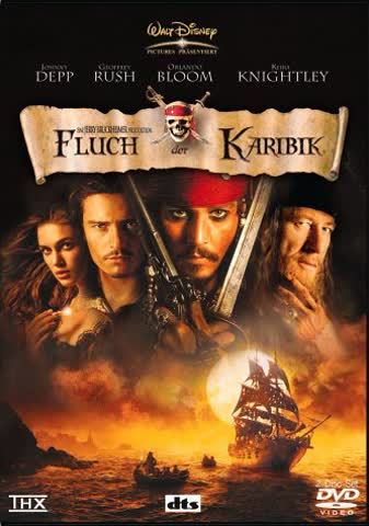 Pirates of the Caribbean: The Curse of the Black Pearl [DVD] [2003]