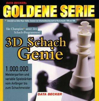 3D Schach Genie. CD- ROM für Windows 95/98/ NT (DATA BECKER's Goldene Serie)