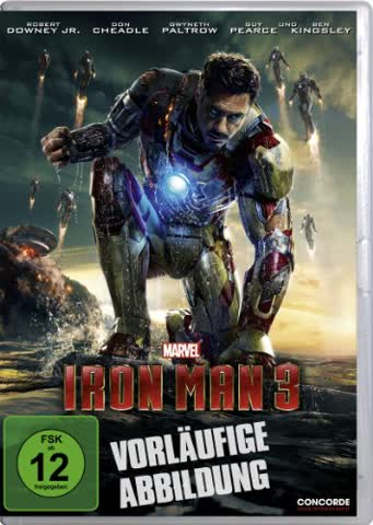 IRON MAN 3 (SINGLE VERSION) (D [DVD] [2012]
