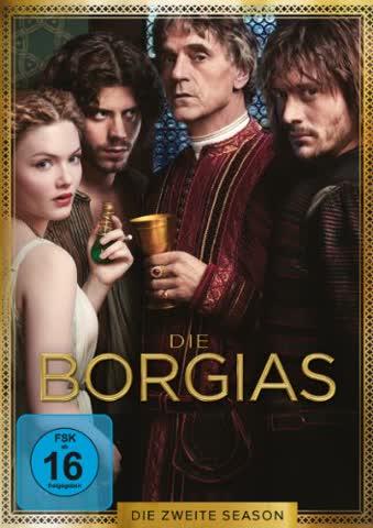 Die Borgias - Die zweite Season [4 DVDs]