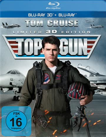 Top Gun (Limited 3D Edition) (+ Blu-ray) [Blu-ray 3D] [Limited Edition]